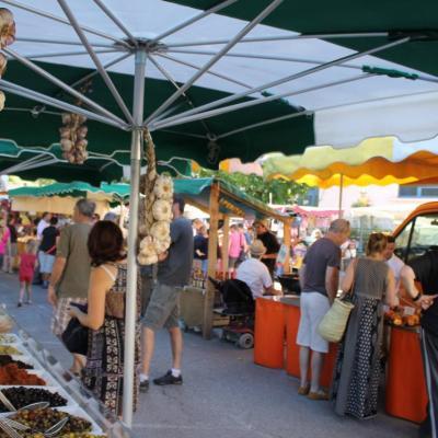 Marché artisanal, produits bios et du terroir Cévenole
