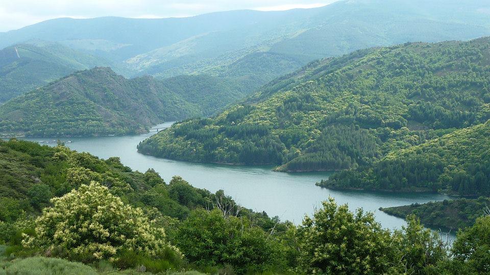 Lac des Camboux à Sainte Cécile D'Andorge