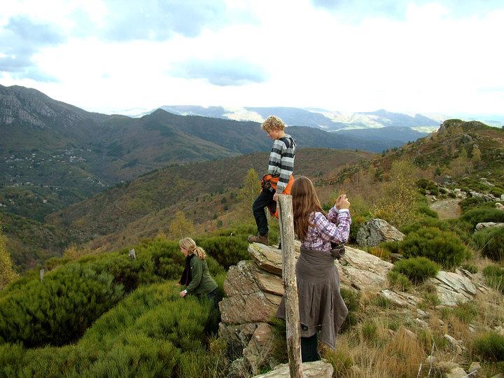 Au dessus de Castagnols, Vialas