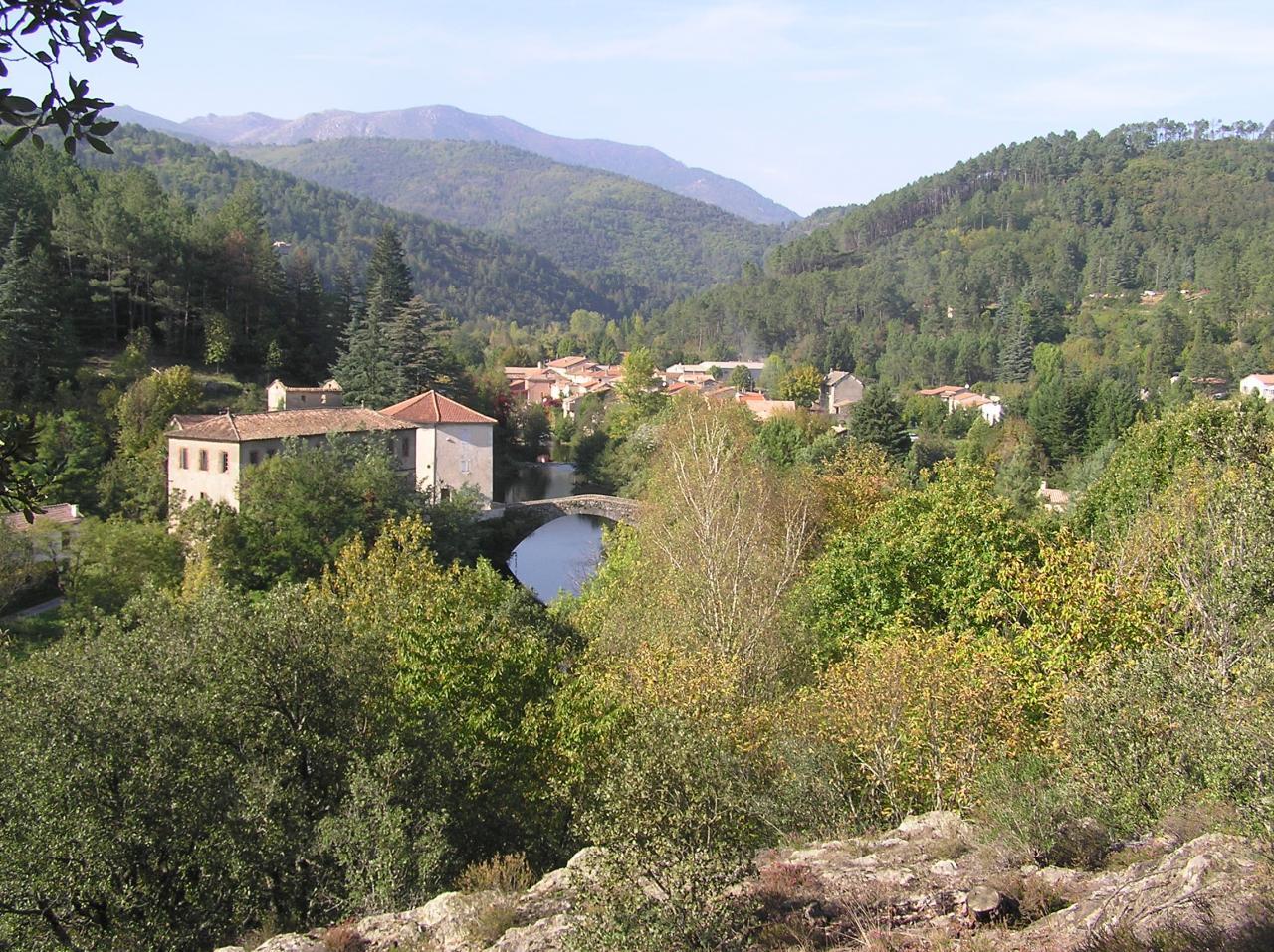Pont de Rastel et le Luech