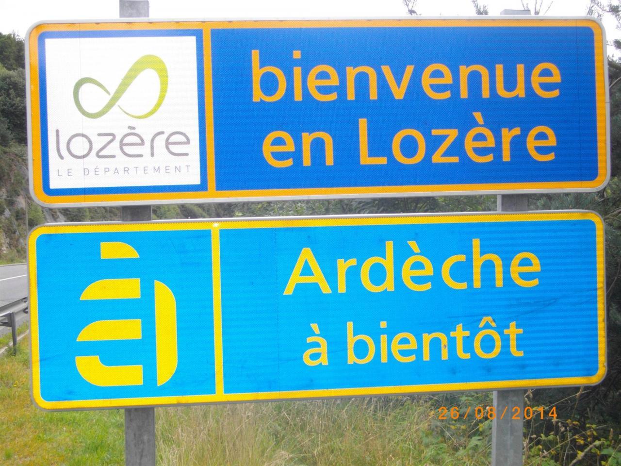 Nous sommes dans le Gard, aux frontières de La Lozère et de l'Ardêche