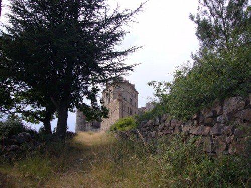 Via le GR700, arrivée au Vaisseau des Cévennes