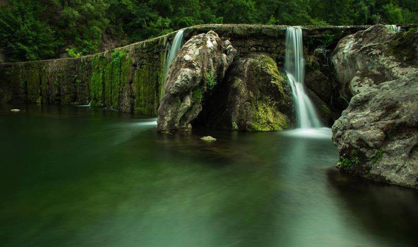 La cascade de la Fabrègue du Vigan